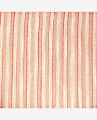 JESSICA PANEL<br /> (for Margot Day Bag)<br />Pink/Multi Striped Linen