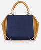 KRISTIN PANEL<br /> (for Margot Day Bag)<br />Navy Blue Italian Leather