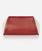 MAGGIE PANEL<br /> (for Taylor Clutch)<br />Jockey Red Italian Leather