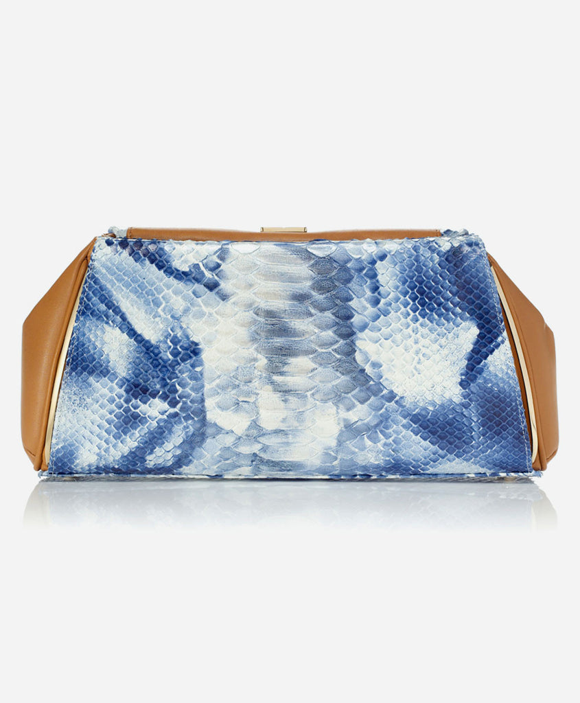 5d25b70cb0 Eponymous New York - SHELLEY PANEL (for Taylor Clutch) Marine Blue ...