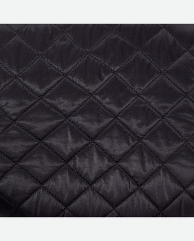 VALERIE PANEL<br />(for Margot Day Bag)<br />Black Quilted Nylon