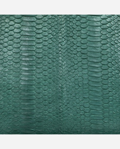 JULIA PANEL<br /> (for Margot Day Bag)<br />Emerald Green Matte Python