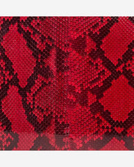 MARGARET PANEL<br />(for Taylor Clutch)<br />Red Glazed Python
