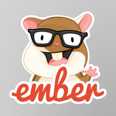 Ember Mascot Stickers
