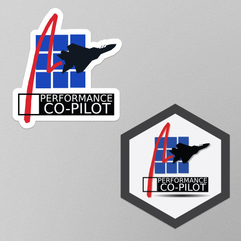 Performance Co-Pilot Stickers