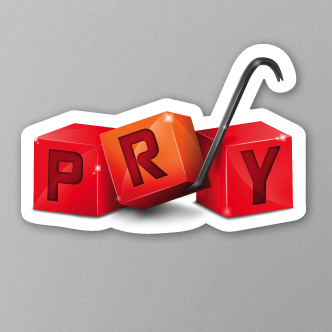 Pry Stickers