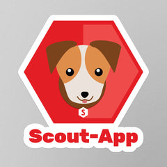 Scout-App Stickers