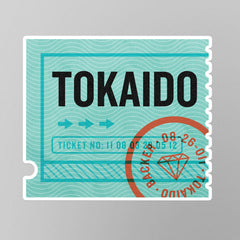 Tokaido Stickers