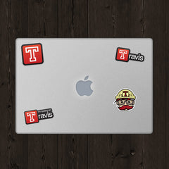 Travis Sticker Bundle