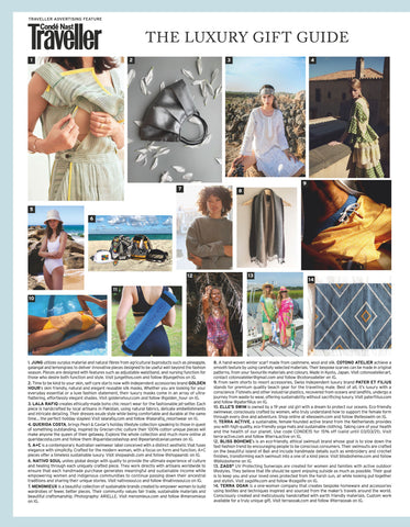 Jung Traveller Sustainability Issue Feature