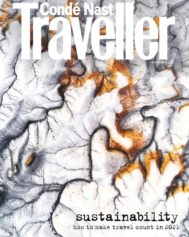 Conde Nast Traveller Sustainability Issue Cover