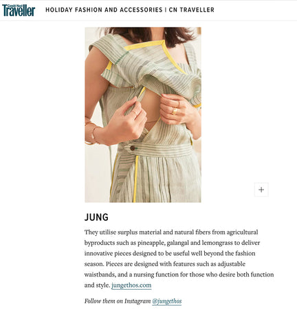 Jung Traveller 'On The Move' Feature