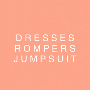 DRESSES JUMPSUITS ROMPERS