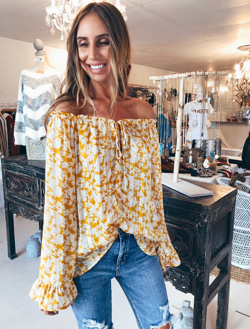 The Mustard Meadow Top