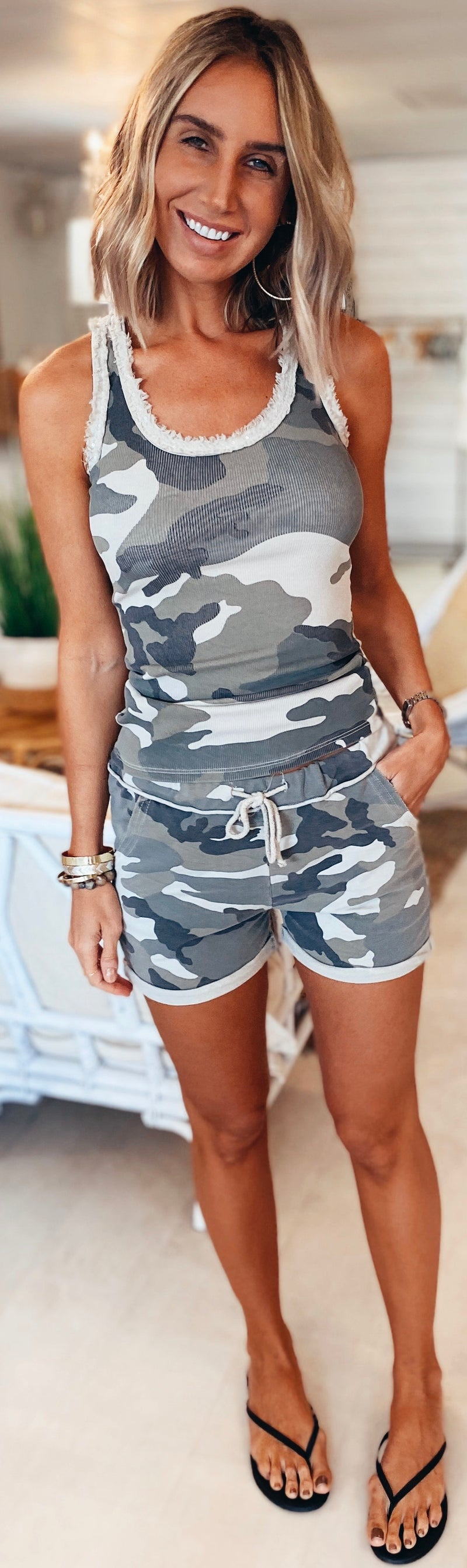The Trails Camo Shorts
