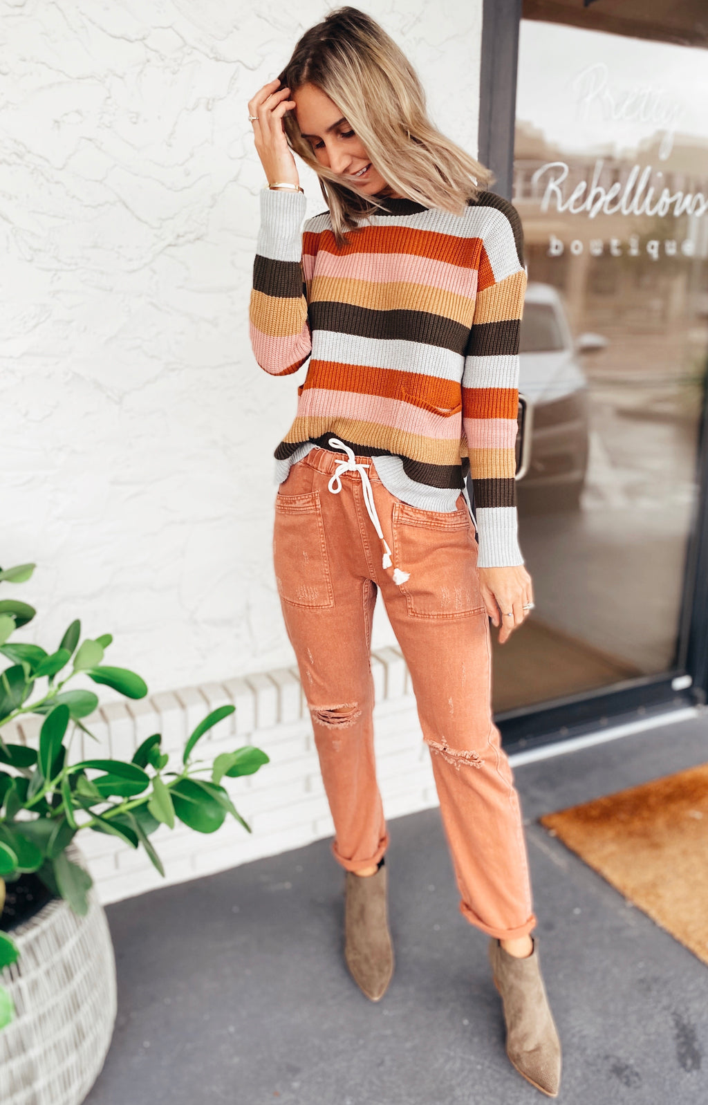 The Canvas Rust Pants