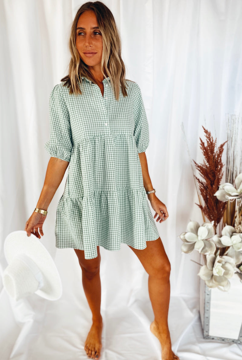 The Gingham Pocket Dress