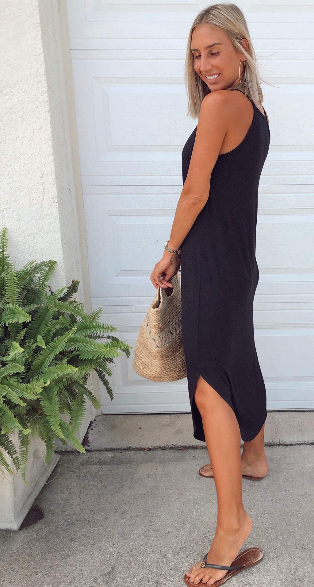 The On The Go Tee Dress