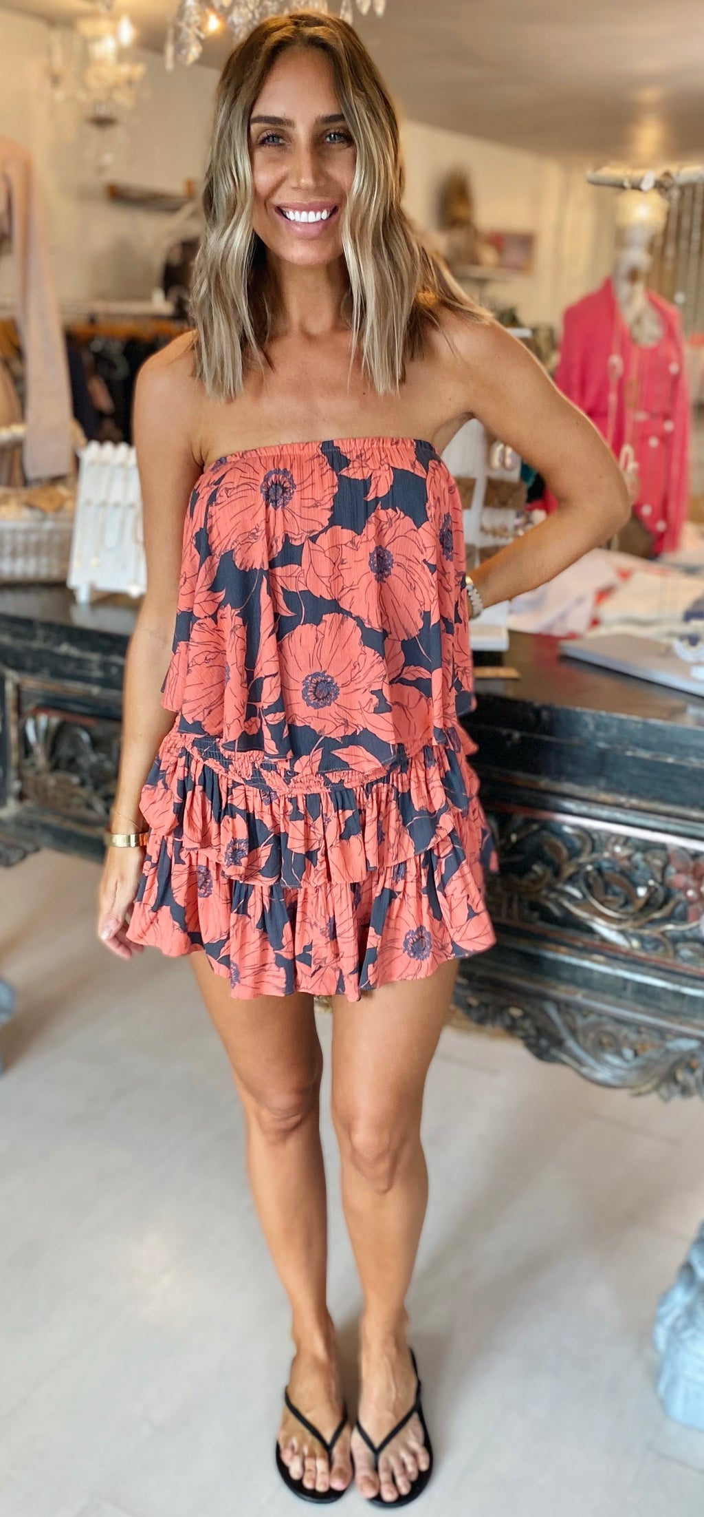 The Tampa Floral Romper