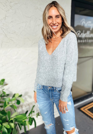 The Cozy Heather Sweater