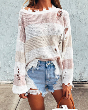 The Pier Stripe Knit