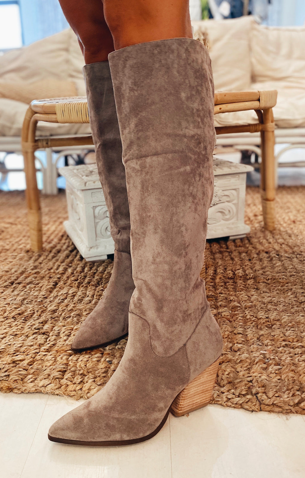 The Hillstone Knee High Boots