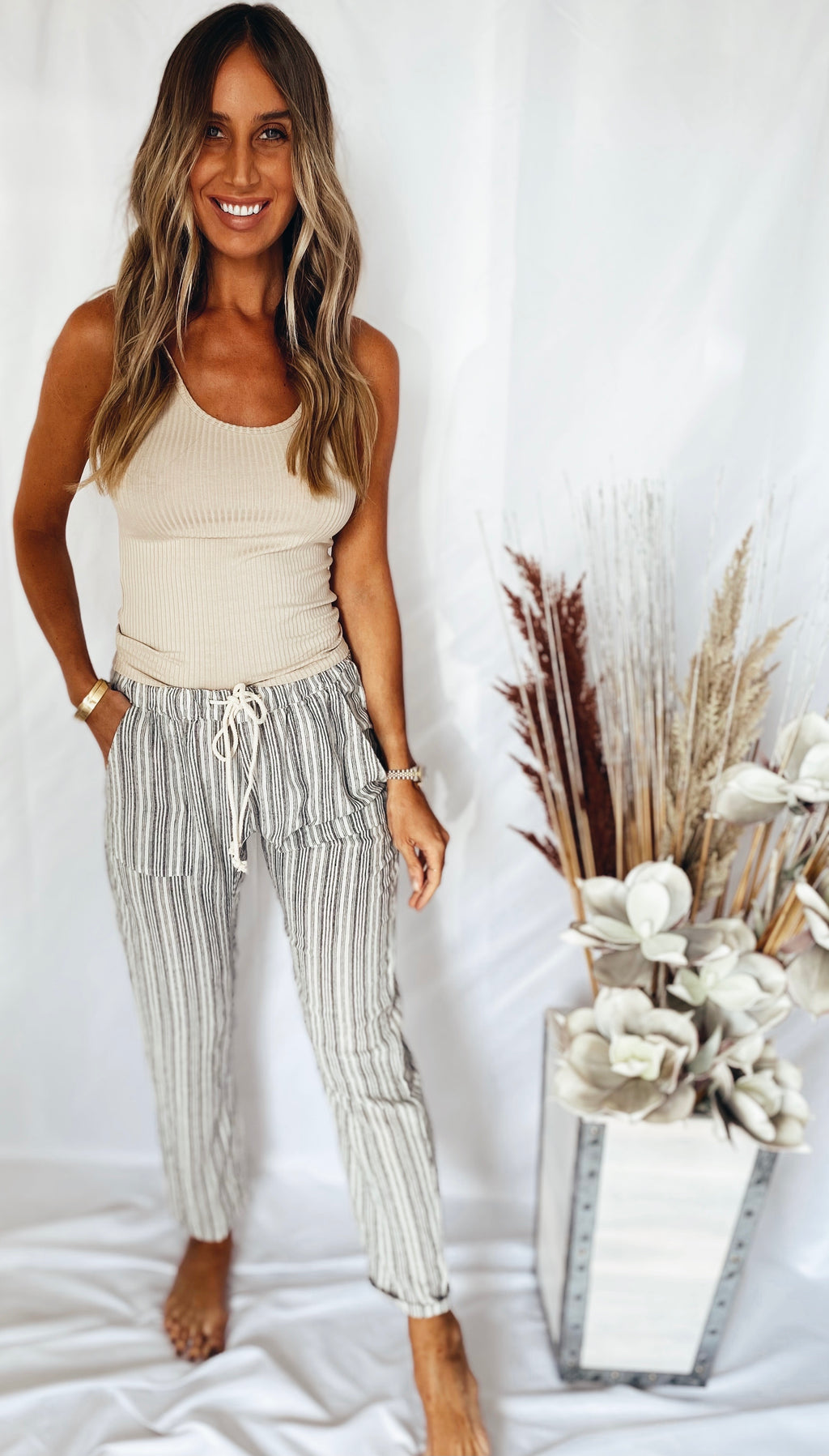 The Market Stripe Pants