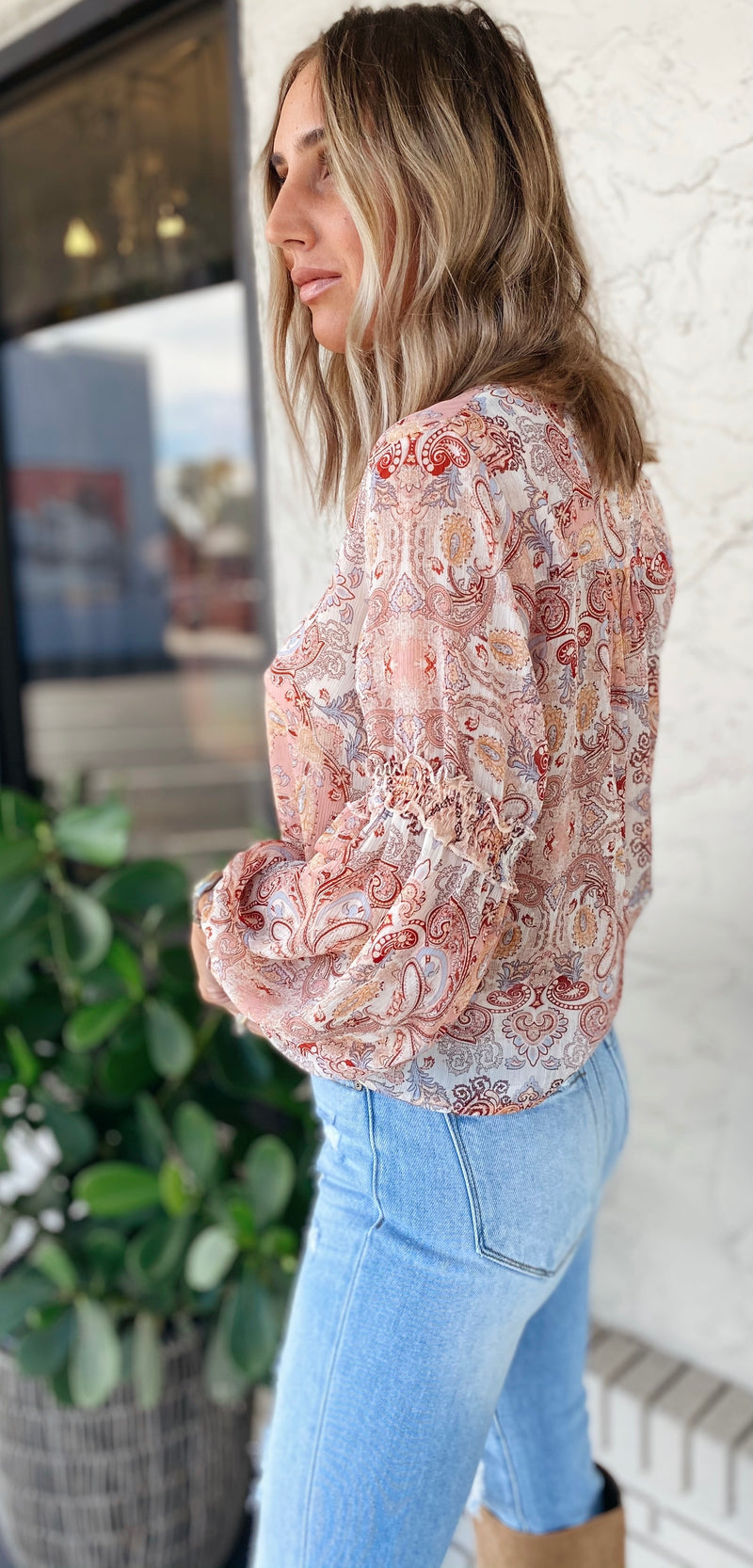 The Dreamer Paisley Top