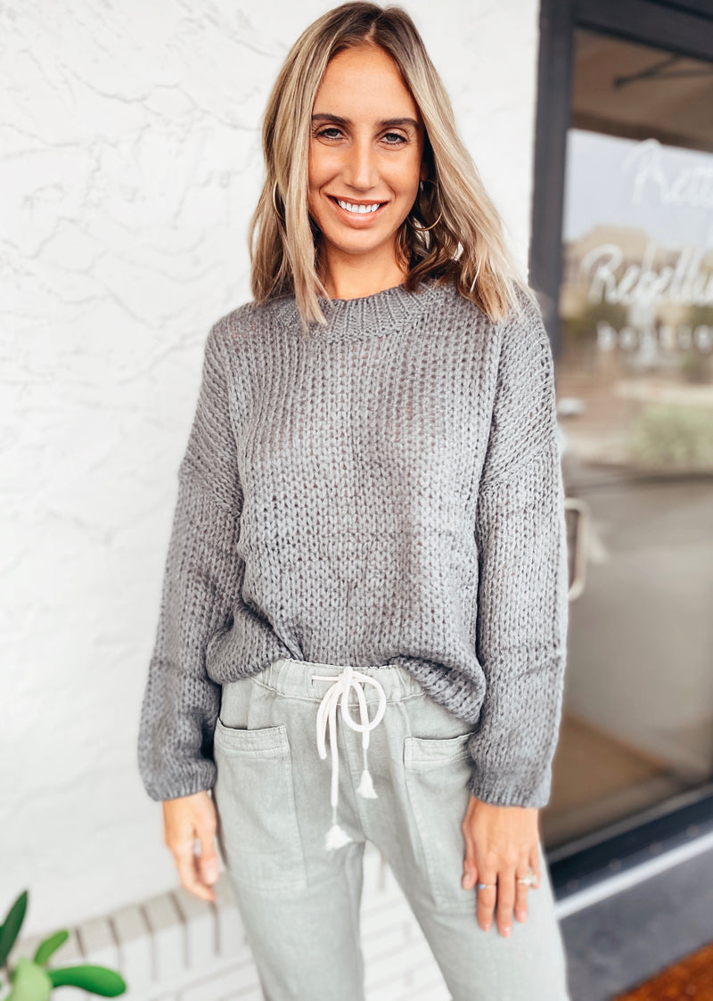 The Cozy Ash Sweater