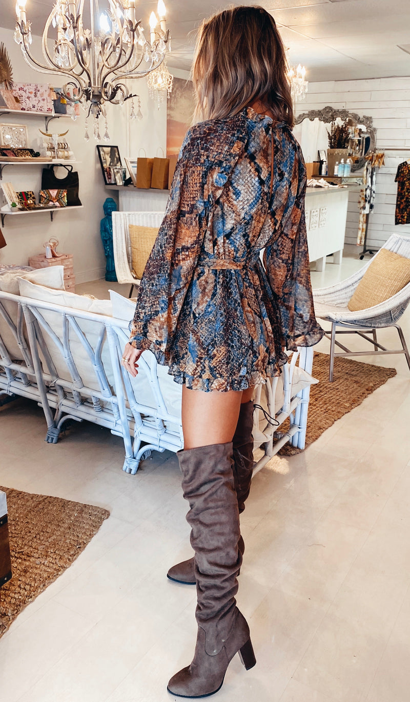 The Desert Waters Romper