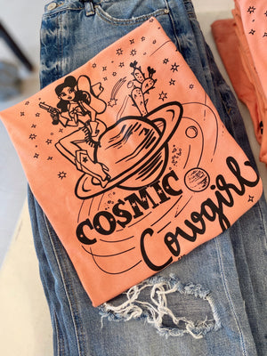 The Cosmic Cowgirl Tee