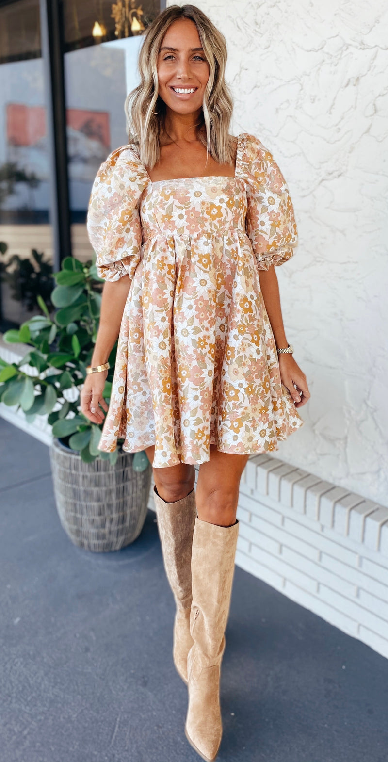 The Blooms Babydoll Dress