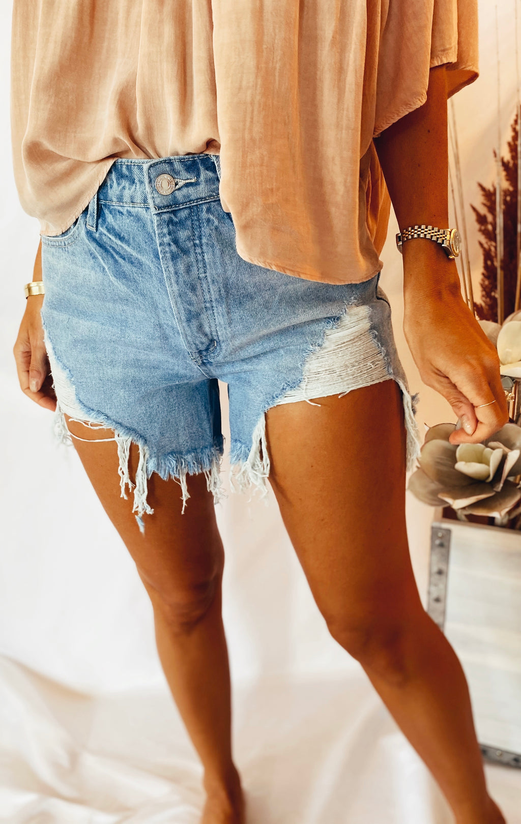 The Sasha Denim Shorts