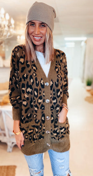 The Cozy Lodge Kitty Cardigan