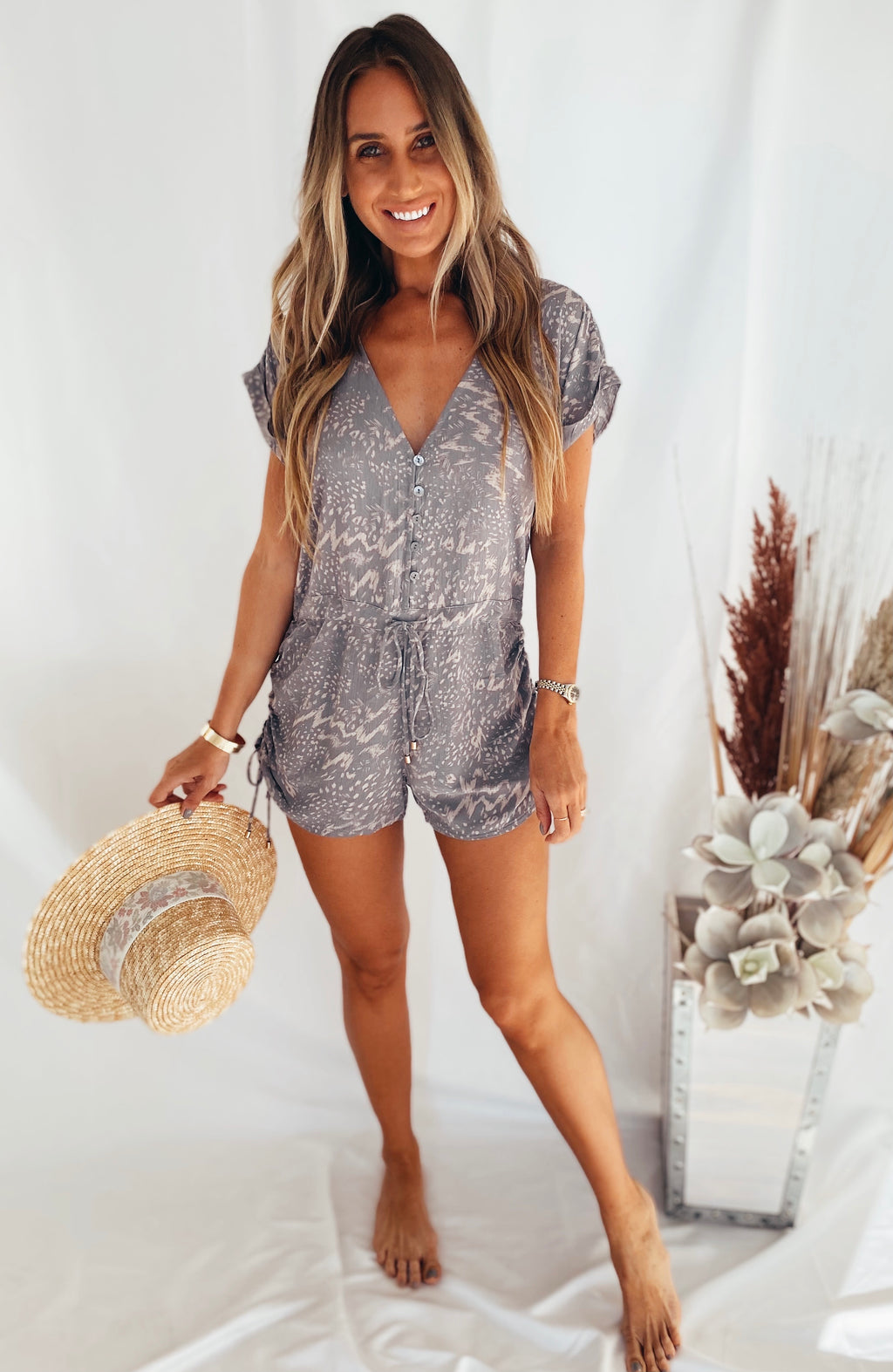 The Hermosa Romper