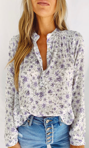 The Lilac Bouquet Top