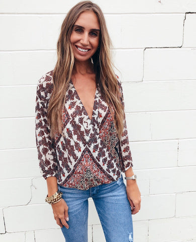 The Paisley Dreamer Top