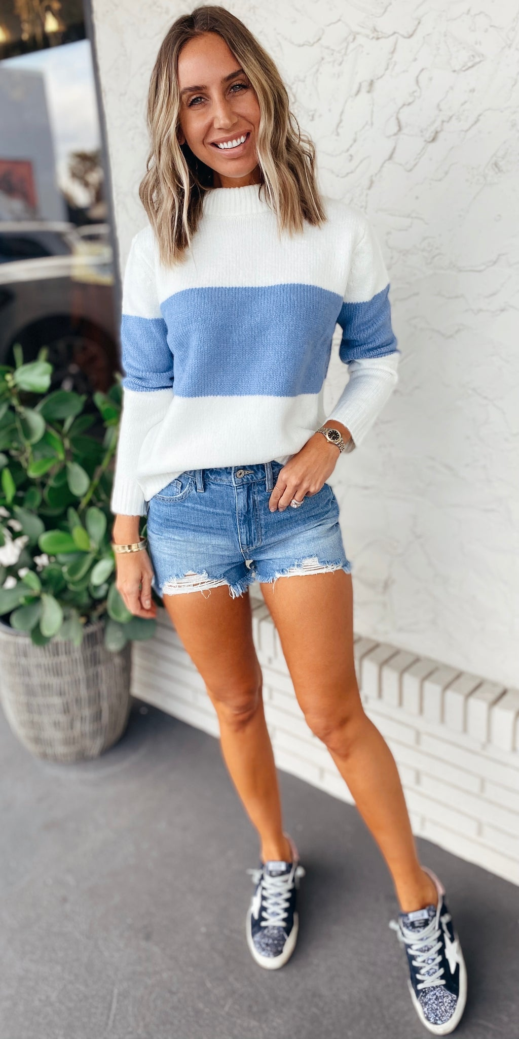 The Blue Skies Sweater