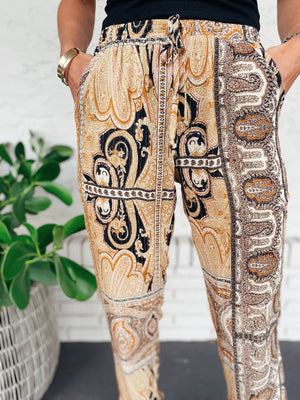 The Honey Paisley Pants