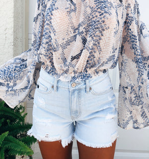 The Surfside Denim Shorts