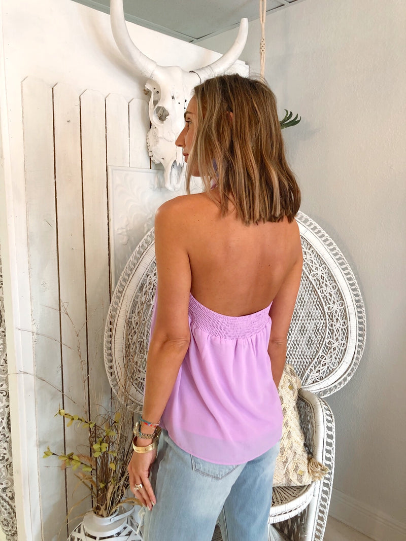 The Lilac Draped Halter