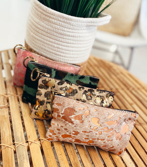 The Eclectic Ranch Wristlet