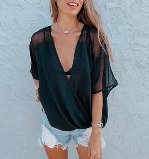 The Haylnn Draped Top