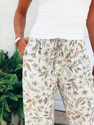 The Paisley Meadow Joggers
