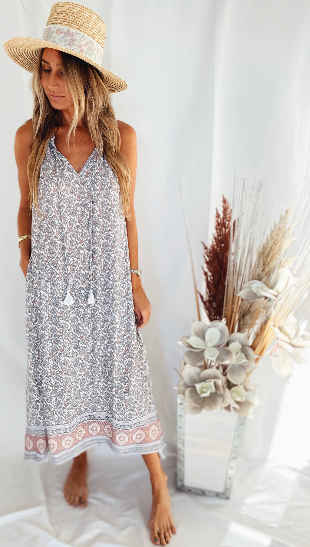 The Lavender Fields Dress