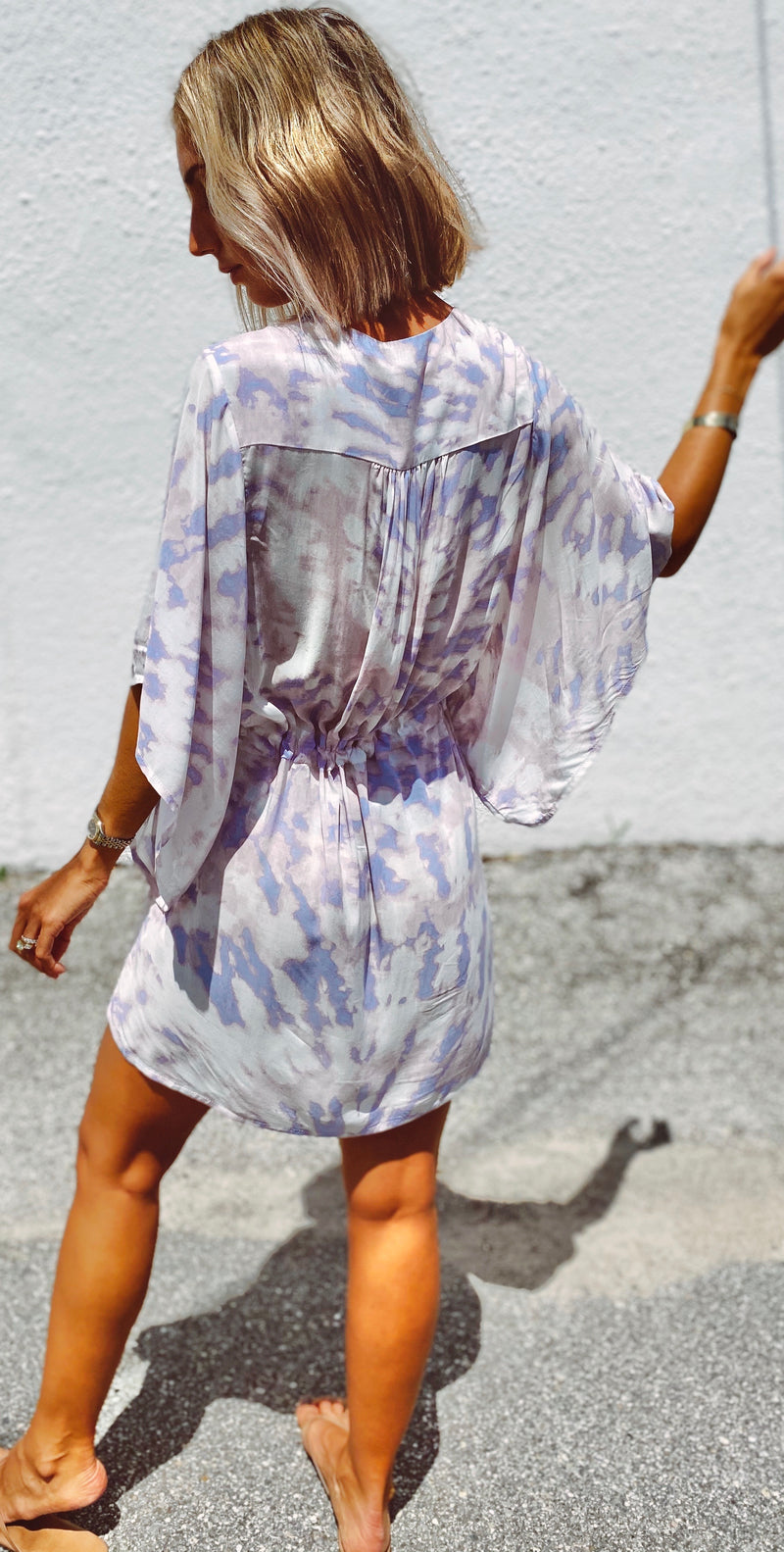 The Tie Dye Butterfly Dress
