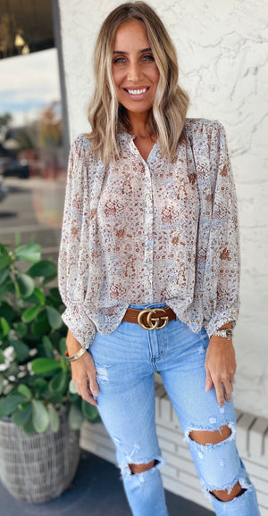 The Boho Meadow Top