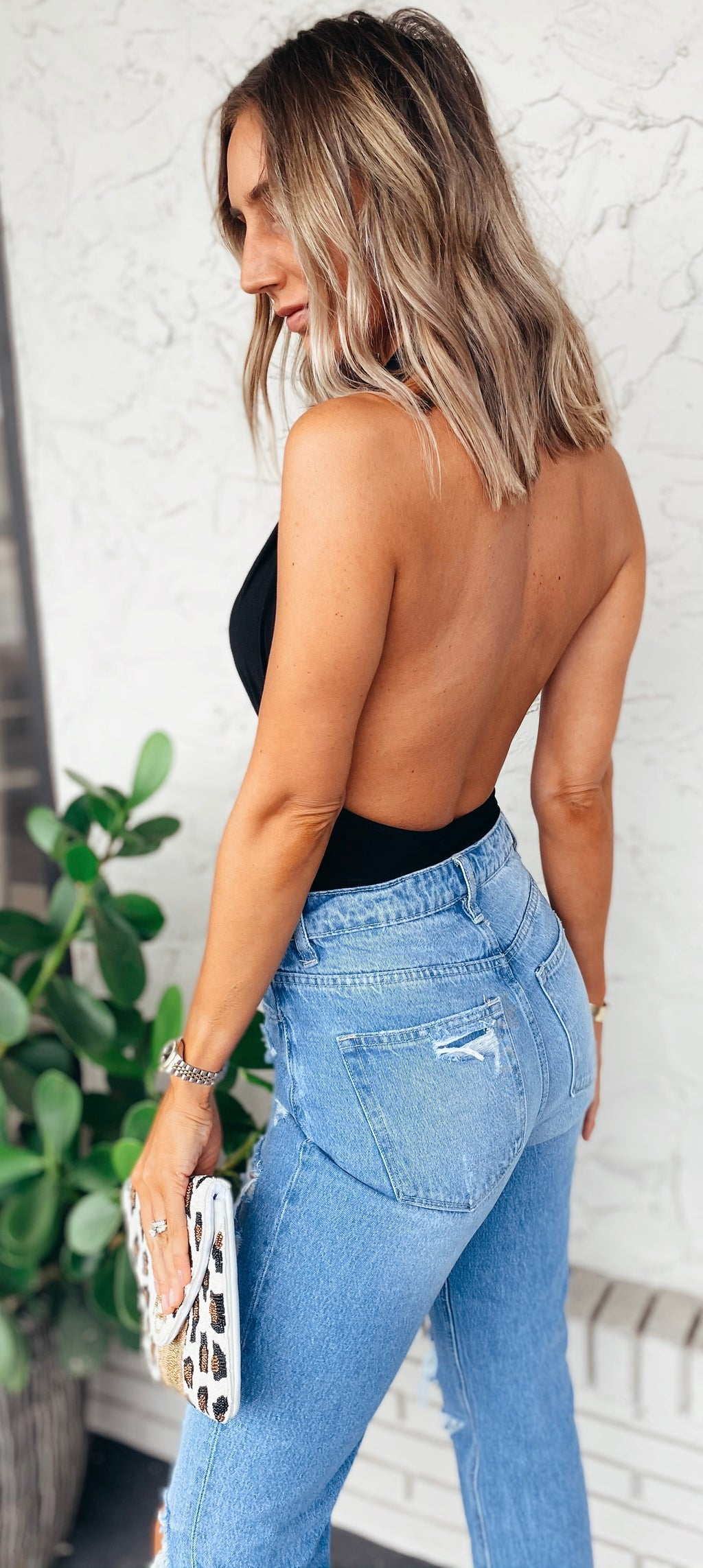 The Luna Halter Bodysuit