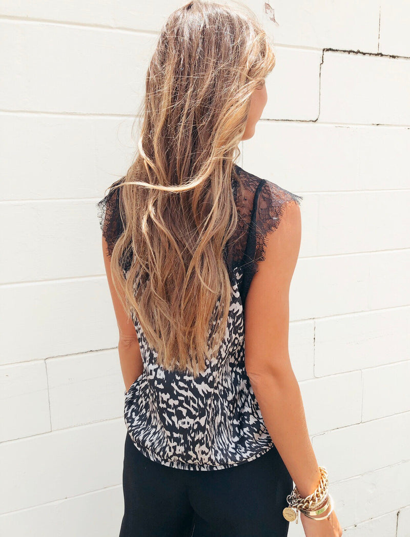 The Late Night Lace Top