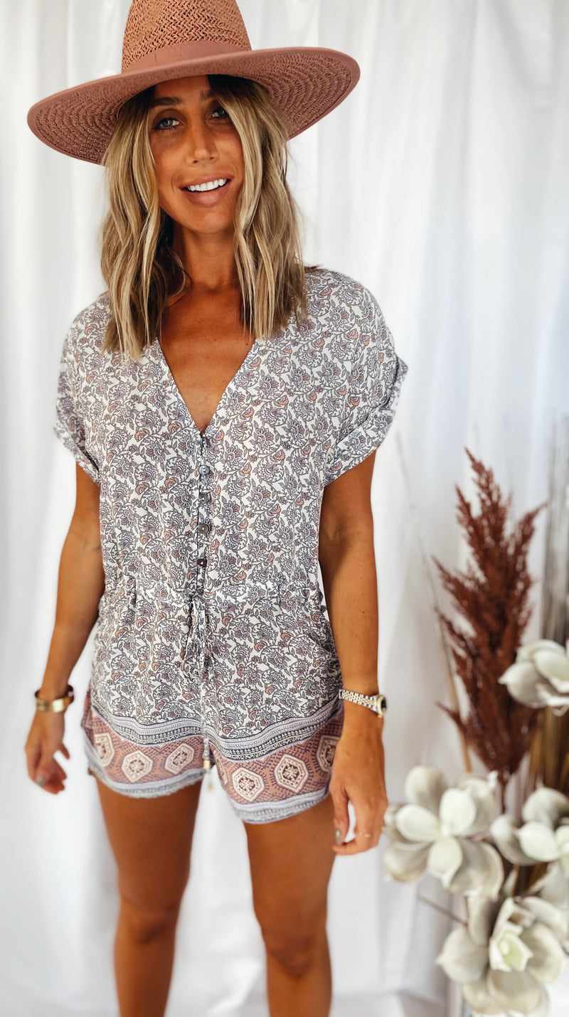The Wildflower Romper